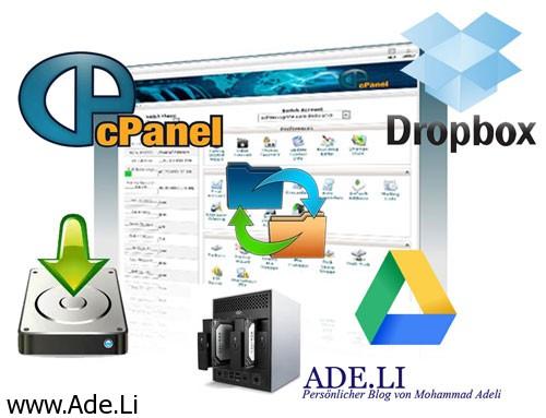 محمد عادلی main آموزش بک آپ اتوماتیک از هاست cPanel با دسترسی یوزر و انتقال به Google Drive cPanel لینوکس  cpanel fullback cpanel backup to google drive cpanel backup to dropbox